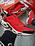 Мужские кроссовки Nike Air Max Tn (красно-белые) 304PL, фото 4
