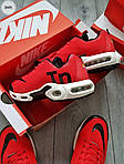 Мужские кроссовки Nike Air Max Tn (красно-белые) 304PL, фото 5