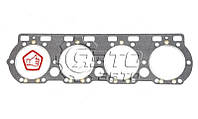 Прокладка головки блока цилиндров, безасбестовая, ЯМЗ-238, старого образца, (ЯЗТО), 238-1003210-В6