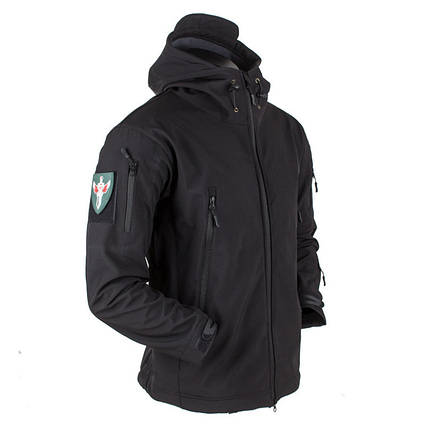 Тактическая куртка Soft Shell (Black) XL