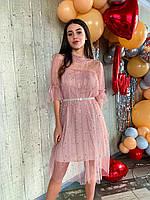 Гипюровые платья разные цвета Код104ВИ