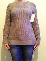 Женский свитер, капучино