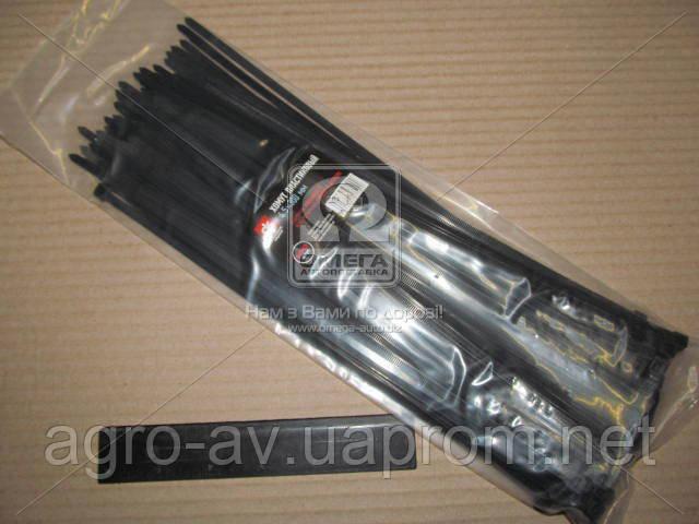 Хомут пластиковый (DK22-4.5х300BK) 4.5х300мм. черный 100шт./уп. <ДК>
