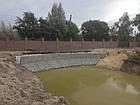 Укрепление берега габионами, габионными матрацами, берегоукрепление склонов, фото 5