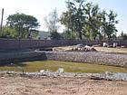 Укрепление берега габионами, габионными матрацами, берегоукрепление склонов, фото 6