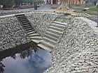 Укрепление берега габионами, габионными матрацами, берегоукрепление склонов, фото 8