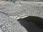 Укрепление берега габионами, габионными матрацами, берегоукрепление склонов, фото 10