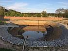Укрепление берега габионами, габионными матрацами, берегоукрепление склонов, фото 7