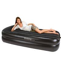Надувная кровать со встроенным насосом 220В Bestway 67403 203х163х48 см