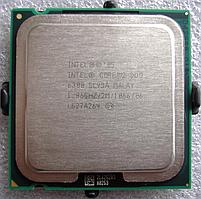 Процессор, Intel Core 2 Duo e6300, 2 ядра, 1.86 гГц