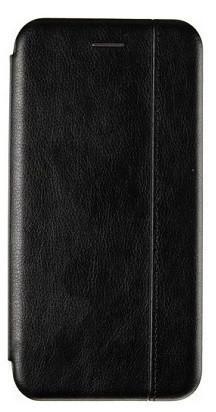 Чехол книжка Leather Gelius для Xiaomi Mi A3 cc9e черная