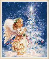 """Набор алмазной вышивки """"Рождественский ангелок"""""""