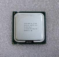 Процессор, Intel Core 2 Duo e7200, 2 ядра, 2.53 гГц