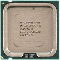 Процессор, Intel Core 2 Duo e7300, 2 ядра, 2.66 гГц, фото 1