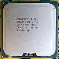 Процессор, Intel Core 2 Duo e7400, 2 ядра, 2.8 гГц, фото 1