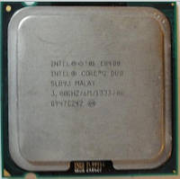 Процессор, Intel Core 2 Duo e8400, 2 ядра, 3.0 гГц