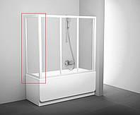 Стенка для ванн неподвижная Ravak APSV Transparent Белый, 700
