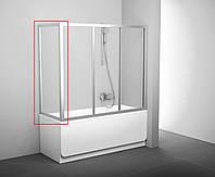 Стенка для ванн неподвижная Ravak APSV Transparent Сатин (матовый), 700