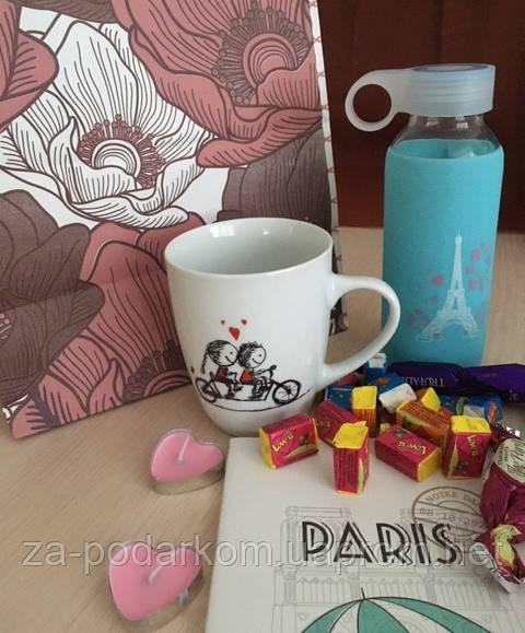 """Подарунок дівчині, мамі на 8 березня, Валентина """"Париж"""""""