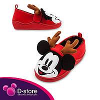 Детские домашние тапочки Микки Маус /Slippers Mickey Mouse Holiday
