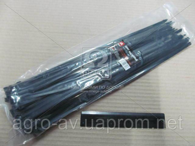 Хомут пластиковый (DK22-4.5х350BK) 4.5х350мм. черный 100шт./уп. <ДК>