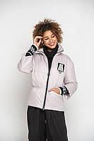 Модная лаконичная куртка на молнии размеры 42-56