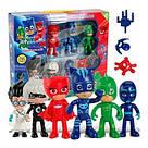 """Игровой набор """"Герои в масках"""" 6 героев \ PJ Masks с аксессуарами scs, фото 2"""