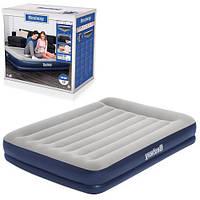 Надувная двухспальная кровать 203*152*36 см Bestway 67725 со встроенным эл. насосом 220V