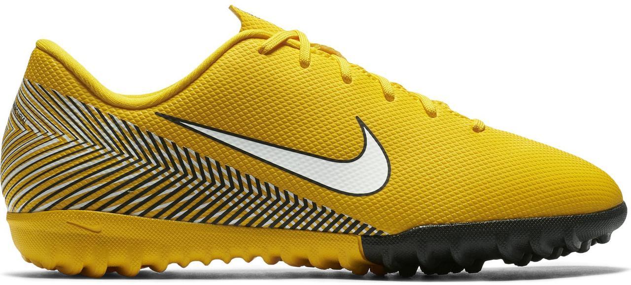 Детские сороконожки Nike Mercurial VaporX 12 Academy GS Neymar TF. Оригинал Eur 33 (20.5 см)