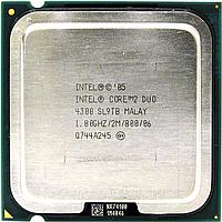 Процессор, Intel Core 2 Duo 4300, 2 ядра, 1.8 гГц, фото 1