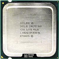 Процессор, Intel Core 2 Duo 4300, 2 ядра, 1.8 гГц