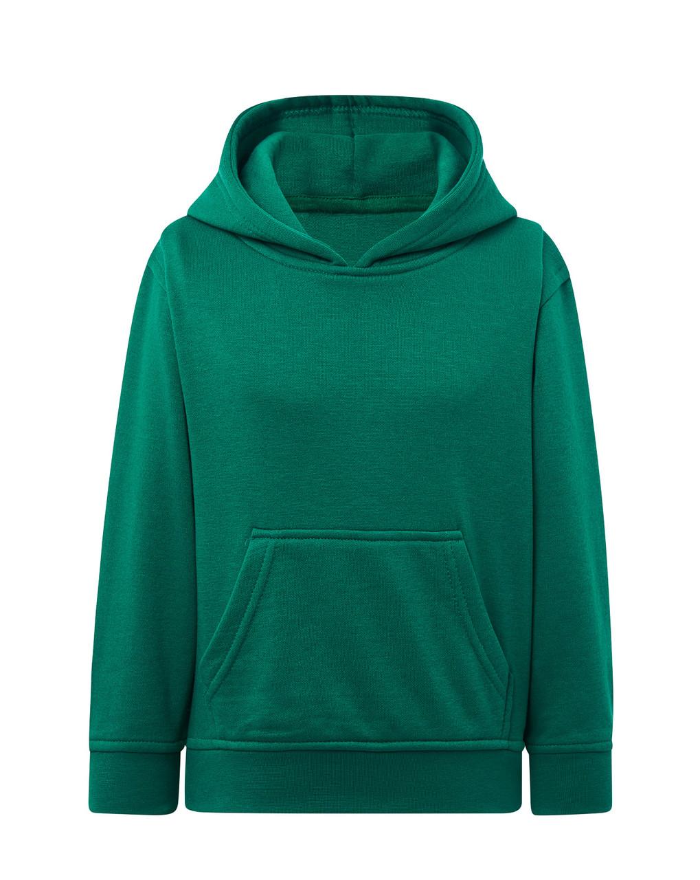 Детское худи JHK KID SWEATSHIRT KANGAROO цвет зеленый (KG)