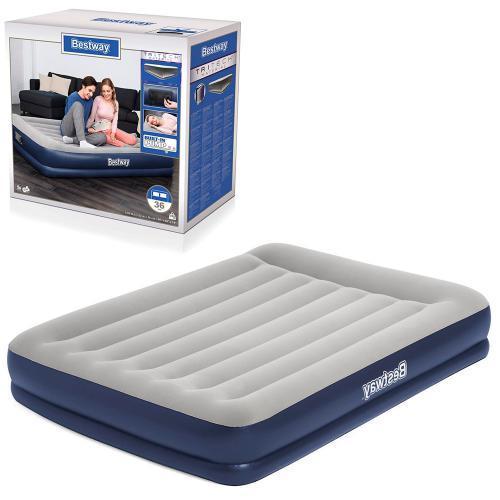 Матрас надувной для сна Bestway 67725 BW с насосом 203-152-36 см