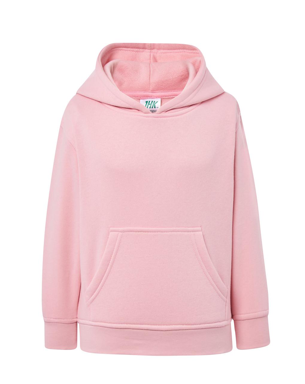 Детское худи JHK KID SWEATSHIRT KANGAROO цвет розовый (PK)