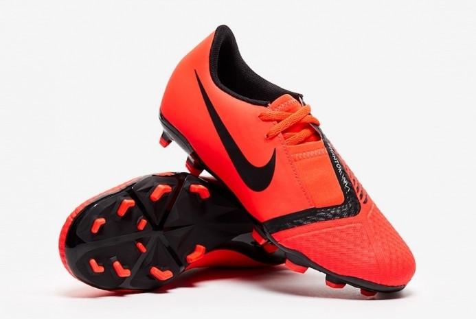 Детские футбольные бутсы Nike JR Phantom Venom Academy FG/MG AO0362-600 Red (Оригинал)