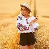 Сорочка вишиванка жіноча Жарптиця розмір S від MEREZHKA