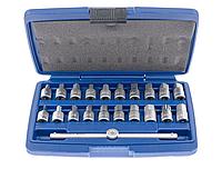 Комплект для масляных сливных пробок 21 пр. ASTA A-GE2405N21, фото 1