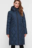 Длинная стеганная женская куртка, прямого кроя S M L XL 2XL, фото 1