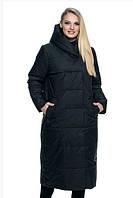 Женская куртка удобная стильная демисезонная большого размера 46-56 р черный, марсал, синий цвет