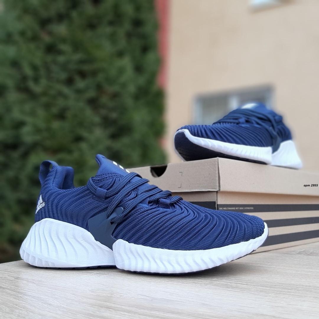 Женские кроссовки Adidas AlphaBounce Instinct (синие) 2955