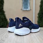 Женские кроссовки Adidas AlphaBounce Instinct (синие) 2955, фото 5