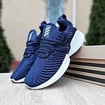 Женские кроссовки Adidas AlphaBounce Instinct (синие) 2955, фото 8