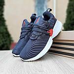 Женские кроссовки Adidas AlphaBounce Instinct (сине-оранжевые) 2956, фото 7