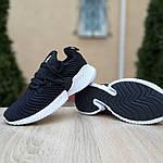 Женские кроссовки Adidas AlphaBounce Instinct (черно-белые) 2957, фото 5