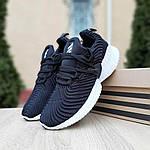 Женские кроссовки Adidas AlphaBounce Instinct (черно-белые) 2957, фото 6