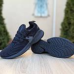 Мужские кроссовки Adidas AlphaBounce Instinct (черные) 1950, фото 7