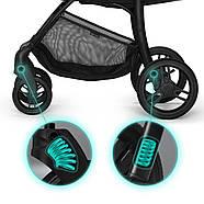 Прогулочная коляска Kinderkraft Cruiser Black, фото 7