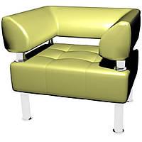 """Мягкое кожаное кресло """"Тонус"""" (бесплатная доставка), фото 1"""