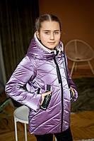 Куртка-жилет демисезонная для девочки