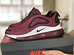 Мужские кроссовки Nike Air Max 720 (бордовые) 8944, фото 3